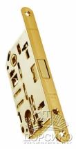 Morelli IM L PG золото полированное — замок магнитный для деревянных дверей с ключом