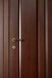 Калина - дверь из массива ольхи - Брянский Лес - детали