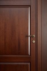Дверь из массива 100% ольхи - фото в деталях