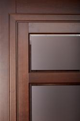 Кама - дверь из массива ольхи в деталях