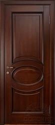 Капри — тонированная глухая дверь из ольхи