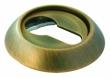 Специальная круглая накладка на замочный цилиндр с ключом Морелли все расцветки