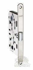 AGB Mediana Evolution бесшумный дверной замок межкомнатный —  никель полированный