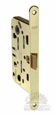 AGB Mediana Evolution межкомнатный бесшумный замок для дверей —  полированная латунь