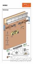 Invisible Morelli — с крытый механизм для раздвижных межкомнатных дверей