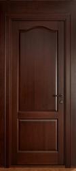 Глухая филенчатая дверь из массива дуба, ольхи или березы - старинный орех от производителя