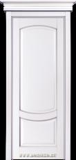 Межкомнатная дверь из бука Ремарк эмаль Лён с патиной Иней без стекол BLUM Industry