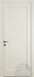 Домино 1 — окрашенные двери из массива березы