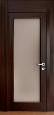 Домино 1 — двери из ольхи с цельным стеклом