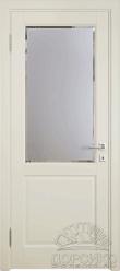 Кантри — белая дверь из березы массив
