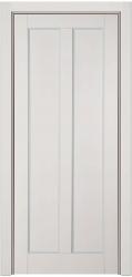 Буковая дверь окрашенная светлой эмалью - Амати