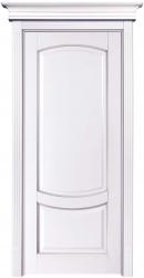 ПГ Белинский - дверь массив бука окрашенная эмалью в цвет лен с нанесением патины
