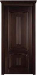"""Дверь  из бука - 100% массив дерева, тонировка """"Грецкий Орех"""" (морилка и лак - HESSE)"""
