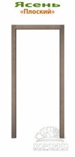Плоский стандартный наличник из ясеня для межкомнатных дверей Блюм Индастри