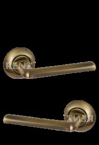 "Ручка дверная ""Тренто"", бронза античная"