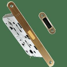 Врезка магнитного замка в межкомнатную дверь цена в СПб